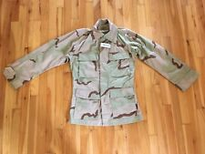 Desert Combat Camouflage Coat 8415-01-327-5298 Army Issue NWT Size X-Small Reg