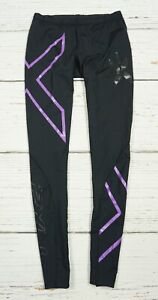 2XU Tights Compression Fitness Gym Leggings Running Bottom Women's Size S