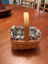 1997 Longaberger Collector's Decorative Hand Woven Basket