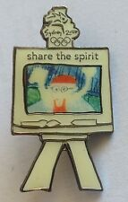 Share The Spirit Sydney 2000 Olympic Games Drawing Competition Pin Badge (F1)