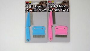 Cat Kitten Flea comb set