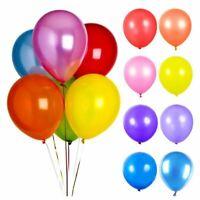 "10-100 10"" 5"" LATEX Plain BALLOONS BALLON helium BALOON Birthday WeddingParty"