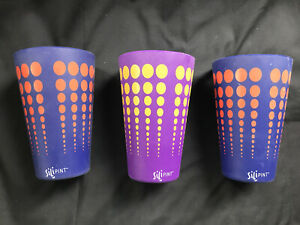 3 Silipint Silicone Pint Beverage Glasses