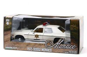 1:24 Scale 1975 Dodge Monaco #84094 Greenlight Collectibles Diecast Model Car