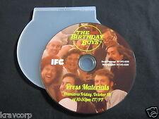 THE BIRTHDAY BOYS [IFC SERIES] 2013 EPK--DIGITAL PRESS KIT DVD