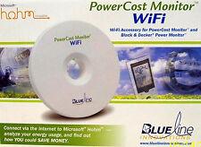 Blue Line Innovations MicroSoft Hohm WIFI Power Cost Monitor #BLI-31100 - NEW