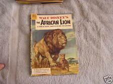 Walt Disney's African Lion Dell Nature No. 665 1955