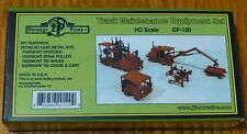 Durango Press HO #100 Track Maintenance Equipment Set (Cast Metal kit)