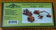 Durango Press HO #100 Track Maintenance Equipment Set (Cast Metal kit)