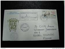 TAAF lettre 26/7/84 - timbre stamp - yvert et tellier n°100 (cy6)