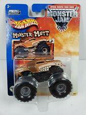 Hot Wheels Monster Jam Monster Mutt #3 2002 Monster Truck - New, K1