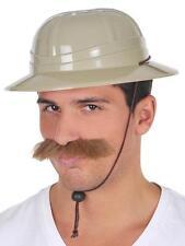 SAFARI HAT - African Hunter Jungle Pith Helmet Costume Accessory Hat