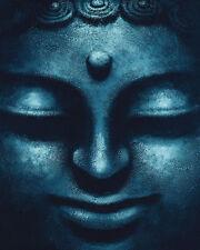 RELIGIOUS POSTER Blue Buddha 16x20