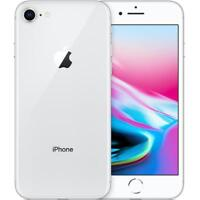 Apple iPhone 8 - 64GB - Silver - Unlocked - Smartphone