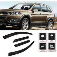 Fit 06-18CHEVROLET CAPTIVA 4pcs Rain Guard Vent Shade Window Visors Deflector