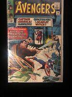 The Avengers #18 Marvel Comics . Key Issue