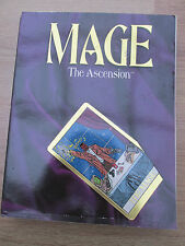 MTA MAGE THE ASCENSION RPG CORE RULE BOOK WW4000 WHITE WOLF SB SC role play game