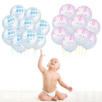 It's a Boy and It's a Girl Latex Balloons for Baby Shower Party Decorations Hot