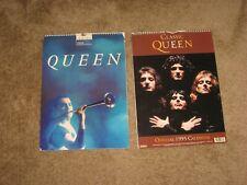 Queen Vintage Wall Calendars 1994,1995 Unused Freddie Mercury