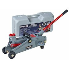 Pro-Lift F-2315PE Grey Hydraulic Trolley Jack Car Lift with Blow Molded Case
