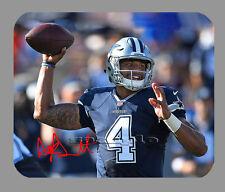 Item#3896 Dak Prescott Dallas Cowboys Facsimile Autographed Mouse Pad
