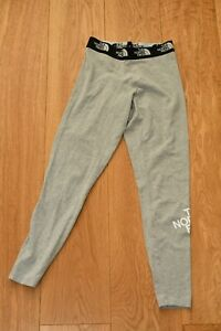 The North Face Women's  Grey Leggings Size S - Cotton blends