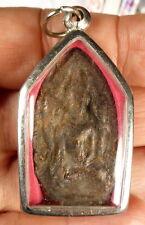 Thai PHRA ROD Buddha Amulet blessed Wat Bang Phra Temple Thailand