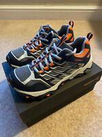 Merrell Moab FST Low Waterproof kids walking shoes trainers size 13 2 3 4