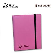 TIMEWALKER Times Sandglass 9-Pocket  BINDER  PINK   MTG  Shipping:Free