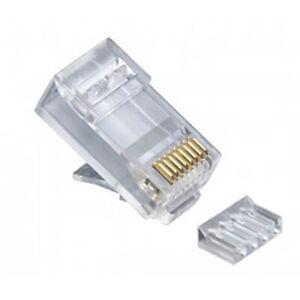Platinum Tools 106188J 2-Pc. High Performance Connectors, CAT6, 100