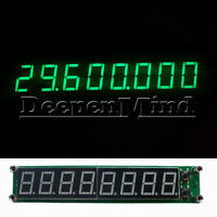 Green 0.1-60MHz 20MHz~2.4GHz RF Signal Frequency Counter Cymometer Tester Meter