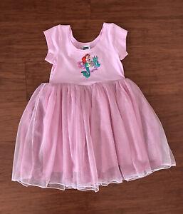 Bonds Disney Baby Girl Little Mermaid Pink Tutu Dress Size 1 BNWT