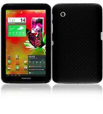Skinomi Carbon Fiber Black Tablet Skin+Screen Cover for Samsung Galaxy Tab 2 7.0
