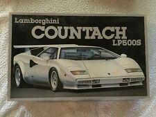 1984 Lamborghini Countach LP500S - Fujimi Model Co - 1/16 scale - open box
