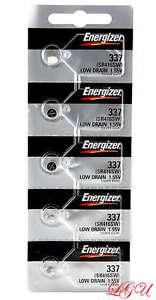 5 337 SR416SW GENUINE FRESH ENERGIZER WATCH BATTERIES