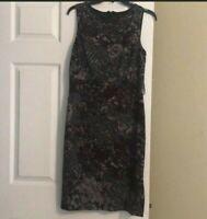 NWT ANTONIO MELANI Floral  Dress, Size 8, Retail $159