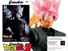Dragon Ball DBZ SS Rose Goku Black Resolution Soldiers Grandista Figure Figurine