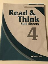 Read & Think Skill Sheets 4 Abeka Book