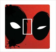 DEADPOOL HEAD 2 - Light Switch Sticker vinyl cover skin decal  - 11