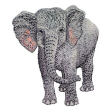 Elephant Applique Patch (Iron on)