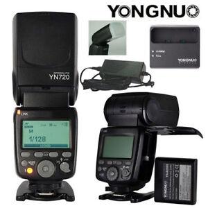 YONGNUO YN720 Kit Lithium Battery Speedlite For Nikon canon Sony FujiFilm Camera