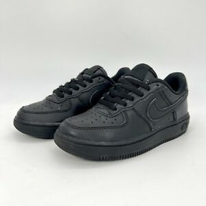 Nike Air Force 1 Black Sneaker Shoes Toddler 314194-009 Size 11C