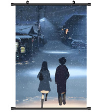 4022 Anime 5 Centimeters Per Second Byosoku 5 cm wall Poster Scroll
