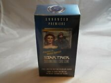 STAR TREK CCG ENHANCED PREMIERE SEALED BEVERLY AND WIL DECK