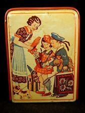 Ancien jouet tirelire scène enfants nounours jouets marin nains Germany 1930