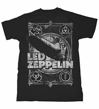 Led Zeppelin T Shirt Shook Me Official Licensed Mens Black Metal Rock Merch LZ1
