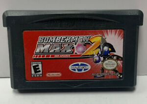 Bomberman Max Red 2 Nintendo GameBoy Advance GBA Cart Only Authentic NTSC Game