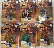 PLAYMATES MONSTER FORCE ACTION FIGURES SET OF 6 DRACULA CREATURE