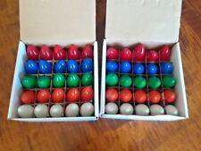 50 Multi-Color Long Life Light Bulbs C9 130 Volt 7 Watt 3000 Hour Indoor/Outdoor