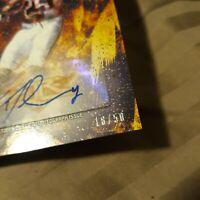 2014 Topps Fire Rookie Autograph  Ka'Deem Carey 18/50 CHICAGO BEARS